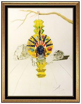 Lithographie Dali -
