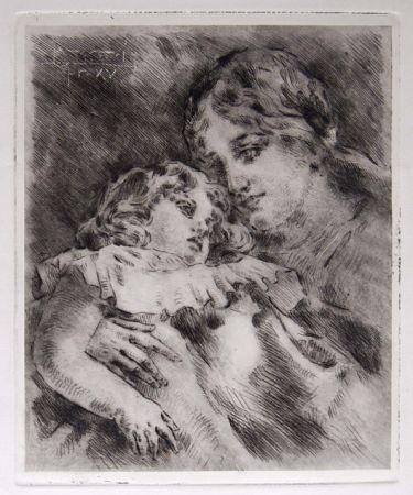 Gravure Conconi - AMOR MATERNO (Maternal Love)