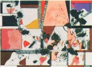 Lithographie Guinovart - Amsterdam n°1