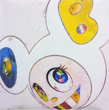 Multiple Murakami - And Then x 6 - White with Blue and Yellow ears