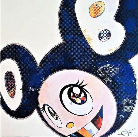 Lithographie Murakami - And Then...(Blue)