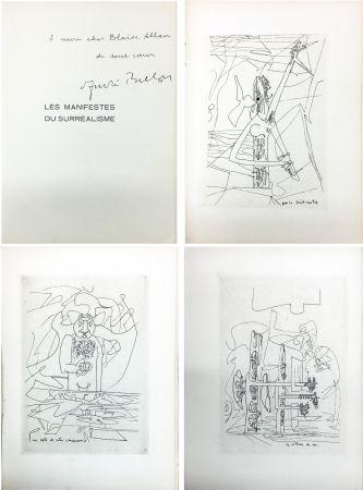 Livre Illustré Matta - André Breton : Les Manifestes du Surréalisme suivis de Prolégomènes à un troisième manifeste du surréalisme ou non. Avec 3 pointes-sèches de Matta