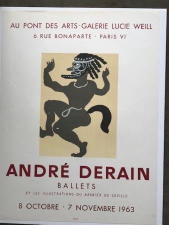 Affiche Derain - André Derain 'ballets '