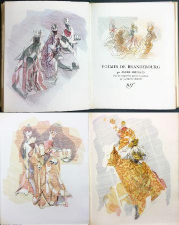 Livre Illustré Villon - André Frénaud : POÈMES DE BRANDEBOURG (1947)