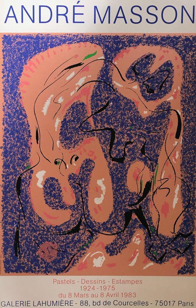 Affiche Masson - André Masson, 75