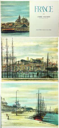 Livre Illustré Carzou - André Maurois : FRANCE (1959)