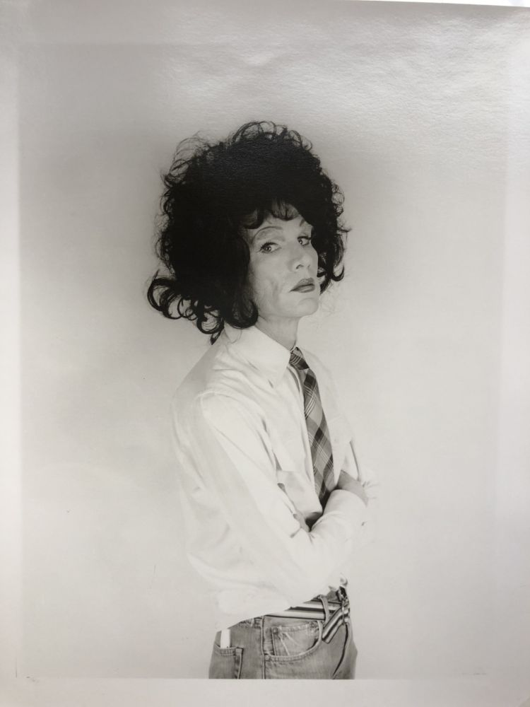 Photographie Makos - Andy Warhol, dark wig (Altered Images)