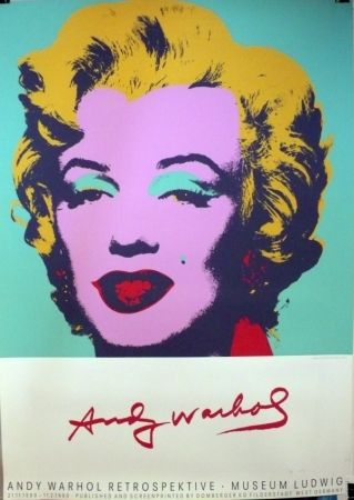 Sérigraphie Warhol (After) - Andy Warhol Retrospektive-Museum Ludwig, 1989