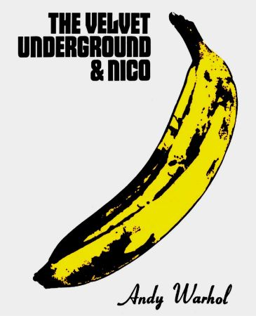 Lithographie Warhol - Andy Warhol 'The Velvet Underground & Nico' 1967 Plate Signed Original Pop Art Poster