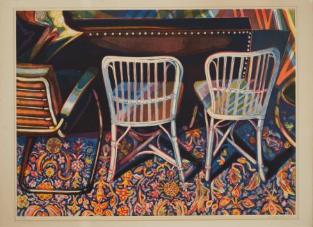 Aquatinte Nesbitt - Andy Warhol's Studio