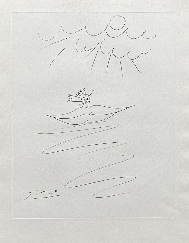 Gravure Picasso - Ange de l'amour