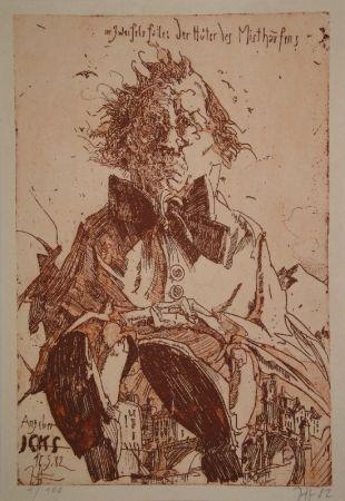Livre Illustré Janssen - Angeber Icks. 1ne Quijoterie (Eine Quijoterie).