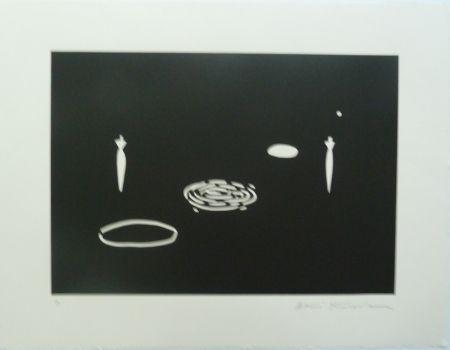 Lithographie Kuroda - Angel City II