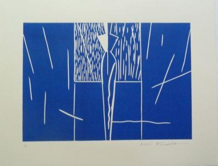 Lithographie Kuroda - Angel City III