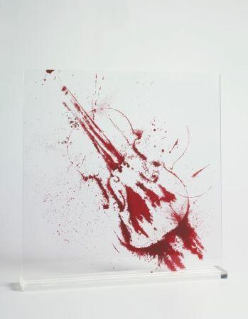 Sérigraphie Arman - Angry violin