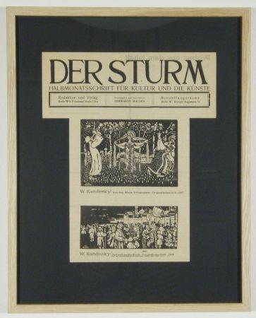 Gravure Sur Bois Kandinsky - Ankunft der Kaufleute (1903), Aus dem Album Xylographies (1907)
