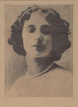 Gravure Pfund - Anna Pawlowna Pawlowa (1881-1931)