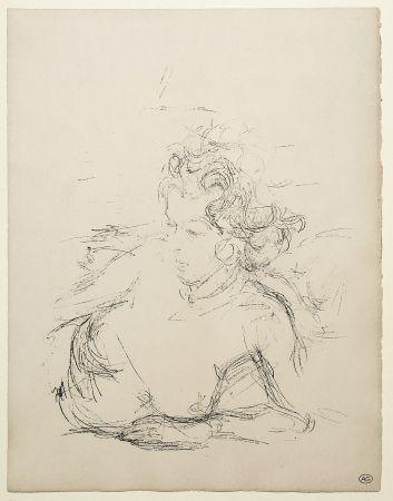 Lithographie Giacometti - ANNETTE (de la suite