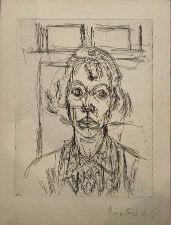 Eau-Forte Giacometti - Annette III