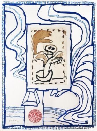 Gravure Alechinsky - Anthropie