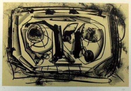Lithographie Saura - Antonio Saura