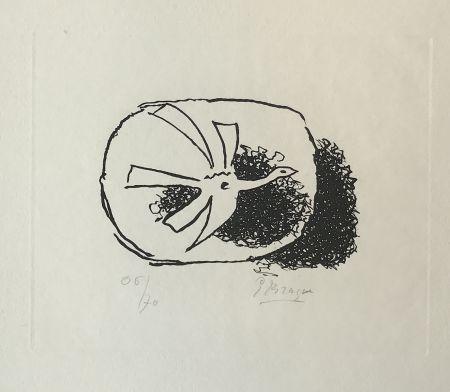 Gravure Braque - Août