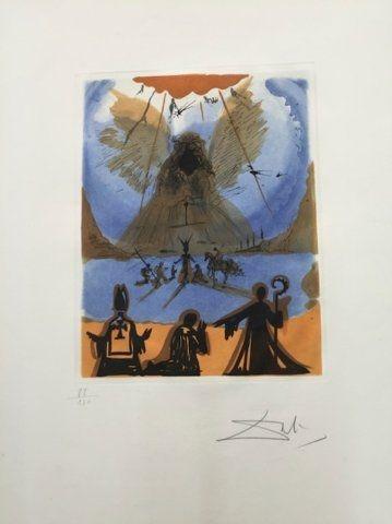 Gravure Dali - Aphotéose