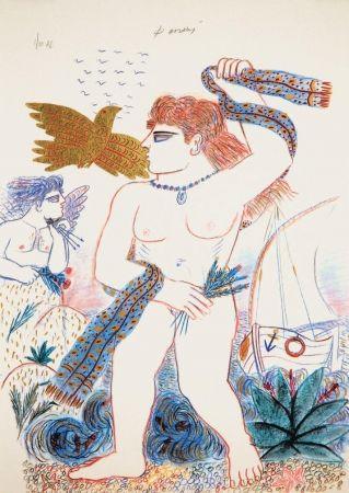 Lithographie Fassianos - Aphrodite