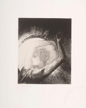 Lithographie Redon - Apocalypse de Saint-Jean