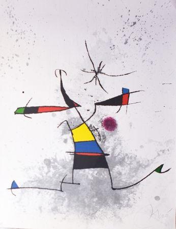 Gravure Miró - Appelant écartelé