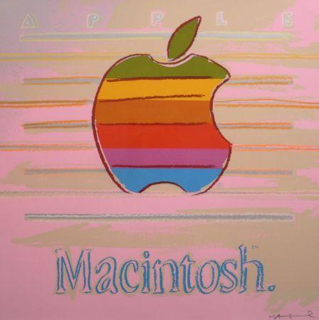 Sérigraphie Warhol - Apple (FS II.359)
