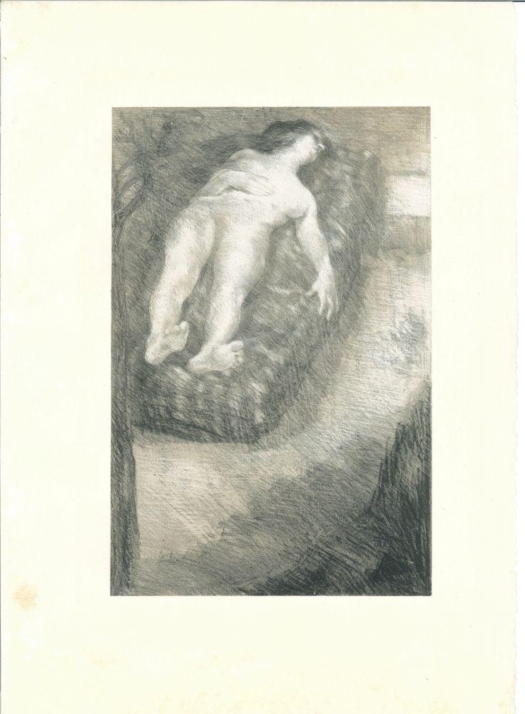 Lithographie Roll - Après la douleur