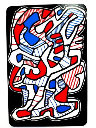 Lithographie Dubuffet - Arbre