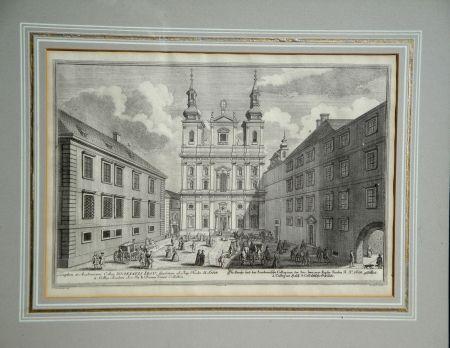 Eau-Forte Kleiner - Architectonic engraving II