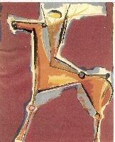 Lithographie Marini - Arciere Viola
