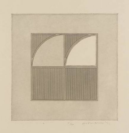 Gravure House - Arcs with a Square