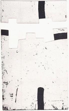 Gravure Chillida - Argi IV