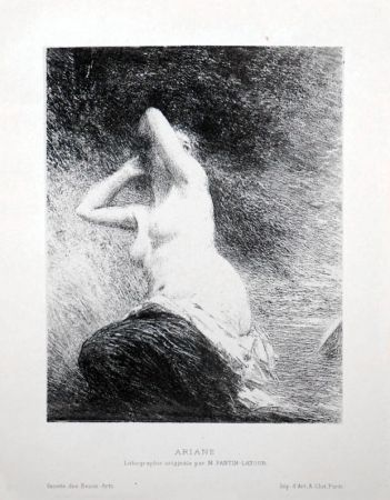 Lithographie Fantin-Latour - Ariane