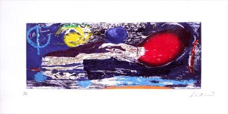 Gravure Sur Bois Frankenthaler - Ariel (1996)