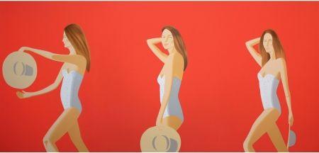 Sérigraphie Katz - Ariel (red)