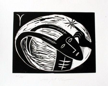 Linogravure Paladino - Ariete