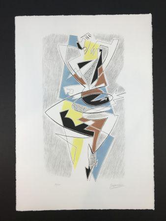 Lithographie Severini - ARLECCHINO