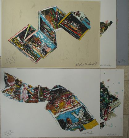 Lithographie Morley - Arles MIami