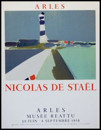 Lithographie De Stael - ARLES MUSEE REATTU