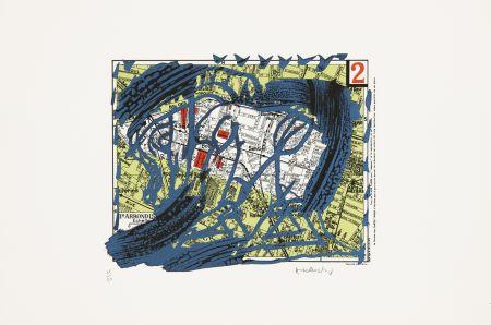 Lithographie Alechinsky - Arrondissement N°2