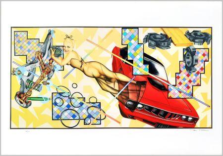 Sérigraphie Phillips - Art-O-Matic Cudacutie