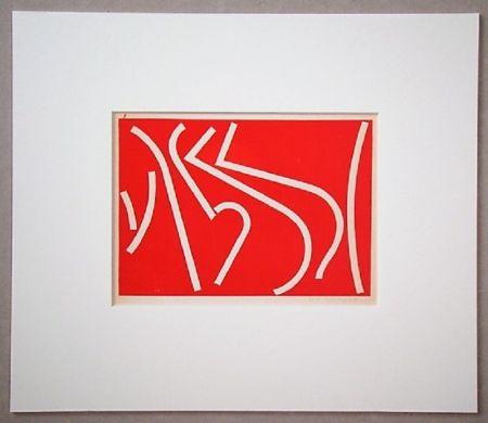 Sérigraphie Colla - Arte non-figurativa 1953