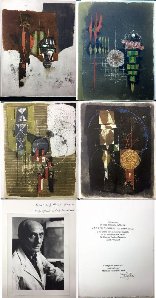 Livre Illustré Friedlaender - Arthur Rimbaud. LES ILLUMINATIONS. Les Bibliophiles de Provence 1979