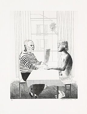 Eau-Forte Hockney -