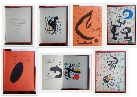 Livre Illustré Miró - Artist Book  Les essencies de a terra